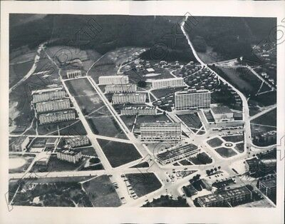 1940 Zlin Moravia Aerial View of the Bata Industrial Community Press Photo