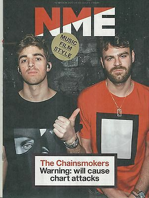 NME - 10 March 2017 - The Chainsmokers Cover