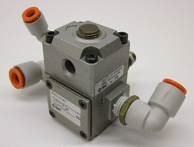 SMC NVSA3115-02O Air Pilot Operated 3-Way Valve