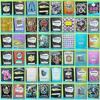 Monster High Doll Replacement Diary Booklet Toralei Nefera Draculaura Catty Cleo