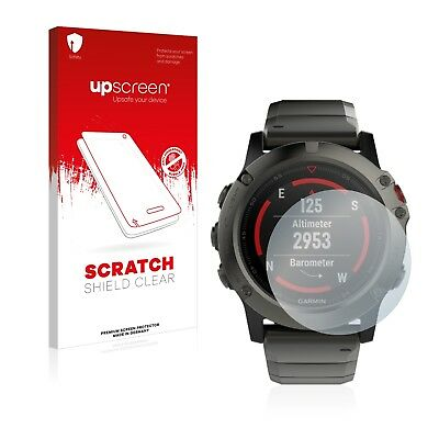 upscreen Scratch Shield Clear Screen Protector for Fluke 289 High Transparency Multitouch Optimized Strong Scratch Protection