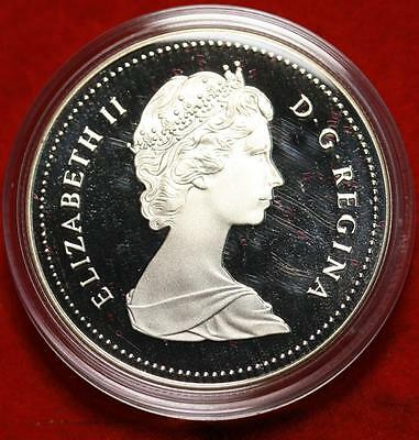 Uncirculated 1988 Silver Canada $1 Dollar Foreign Coin Free S/H