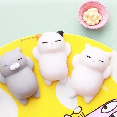 Funny Cute Anti Stress Face Reliever Animal Autism Mood Vent Squeeze Toy New