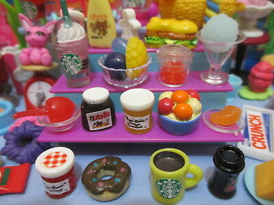 Littlest Pet Shop Lot 17 Random Grocery Sweets LPS Accessories