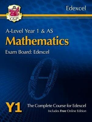 New A-Level Maths for Edexcel: Year 1 & AS Student Book with Online Edition...