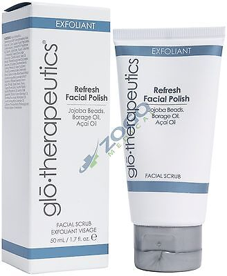 Glo Therapeutics Refresh Facial Polish 1.7 oz 3 Pack - Freeman Deep Clearing Facial Clay Mask + Cleanser, Manuka Honey + Tea Tree Oil 6 oz