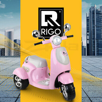 Rigo Kids Ride On Motorcycle Motorbike Electric Car Scooter Bike Toys Battery