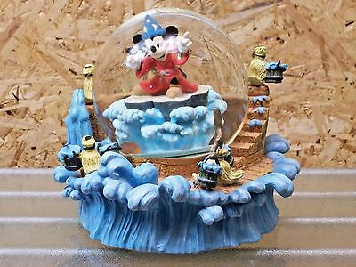 "Disney Mickey Mouse ""The Sorcerer's Apprentice"" - Musical Glitter Globe"