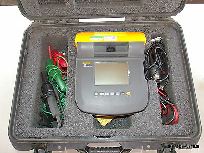 Fluke 1555 10 kV Digital MegOhmMeter High Voltage Insulation Resistance Tester #