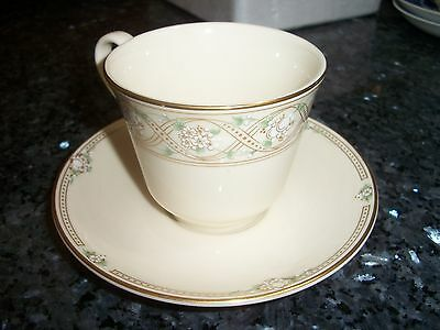 """Royal Doulton New Romance Collection """"Gabrielle"""" Cup and Saucer #1 1998"""