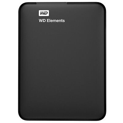 Western Digital Elements Portable 1 TB schwarz externe Festplatte USB 3.0