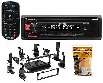 CD Receiver w/Aux/Mp3/WMA, 3-Band Eq+Remote For 1998-2004 Nissan Frontier