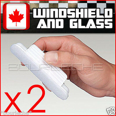 2 PACK HYDROPEL WINDSHIELD GLASS RAIN REPELLENT - same aquapel applicator size