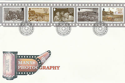 Isle Of Man Official Fdc - Manx Photography - Issue Date -  9 January 1991