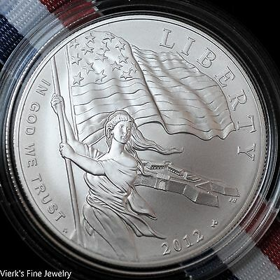 2012 Star-Spangled Banner Commemorative 900 Silver Dollar Limited US Mint UNC