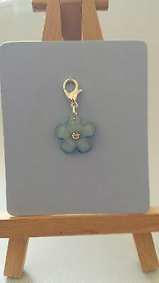 Forget me not Clip on Charm.