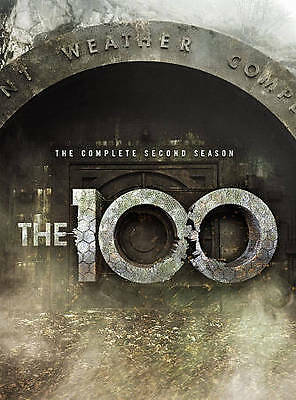 The 100: The Complete Second Season (DVD, 2015, 4-Disc Set) New Sealed