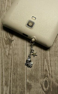 Virgo The Virgin Charm For Mobile Phones. Tablet. Ipad. Iphone. Dust Plug