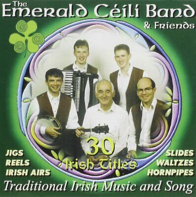 THE EMERALD CEILI BAND AND FRIENDS  *** BRAND NEW SEALED CD Irish Dance Music **