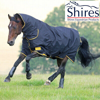 Shires Tempest Original 100g Lightweight Combo Turnout Rug (Fixed Neck)