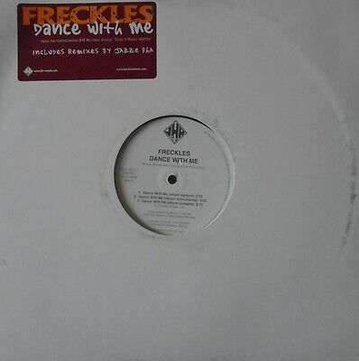 "FRECKLES - Dance With Me ~ 12"" Single US PRESS PROMO"