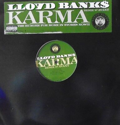 "LLOYD BANKS - Karma ~ 12"" Single US PRESS"