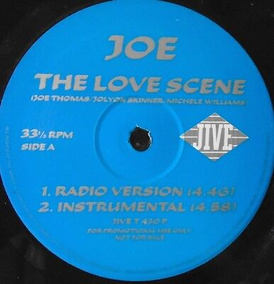 "JOE - The Love Scene ~ 12"" Single PROMO"