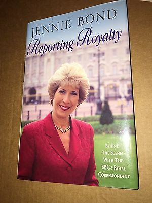 PRINCESS DIANA - REPORTING ROYALTY hard cover book - JENNIE BOND - BEHIND SCENES