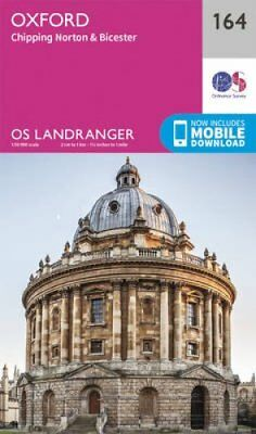 Oxford, Chipping Norton & Bicester by Ordnance Survey 9780319262627