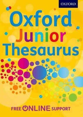 Oxford Junior Thesaurus by Oxford Dictionaries 9780192756886