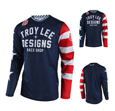 Troy Lee Design GP Air Americana MX MTB Enduro Motocross Jersey navy
