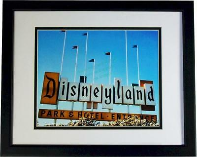 Vintage Color image Disneyland Old Marquee Vintage 1950s image Sign NEW 8x10