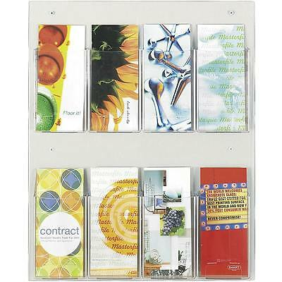 Safco Clear2c 8-pamphlet Display