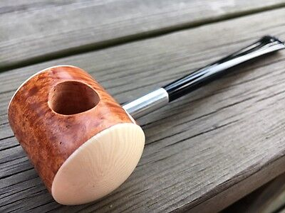 Road Town captain popeye's Briar wood pipe  ---- unsmoked
