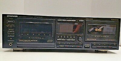 Cassette Changer Multi PIONEER CT-WM70R. + Remote. Great Performance & Condition