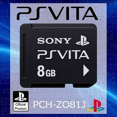 OFFICIAL Sony PlayStation PS Vita 8GB Gaming Memory Card/Stick
