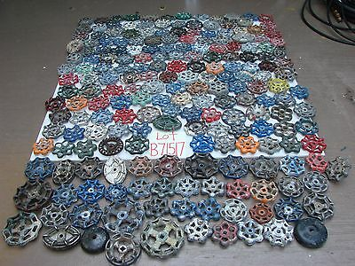 Lot 200 Vintage Metal water Faucet Knobs valve handles STEAMPUNK Industrial art