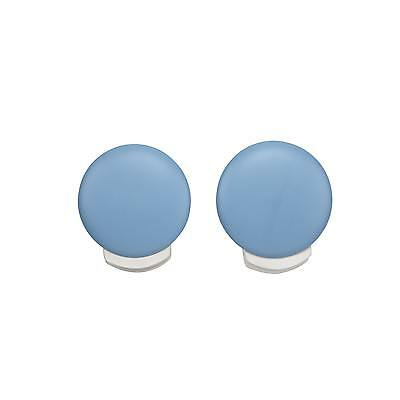 Crown Crafts NoJo Blue Circle Wall Decor Clips