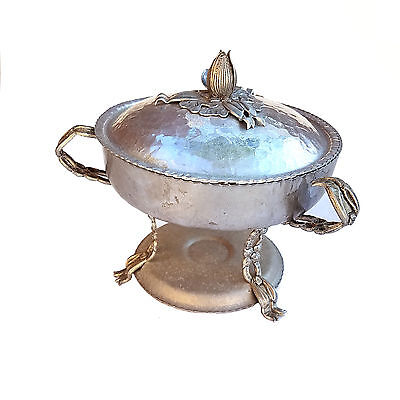 Rodney Kent Hammered Aluminum Chafing Dish Food Warmer   Jt