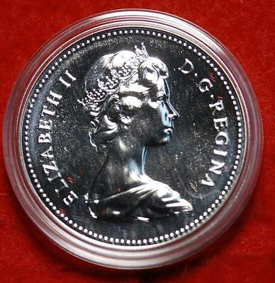 Uncirculated 1979 Silver Canada $1 Dollar Foreign Coin Free S/H