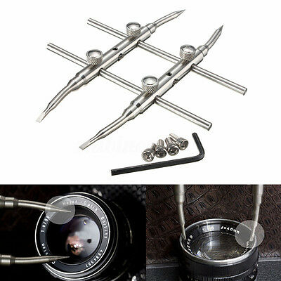 New Spanner Camera Lens Repair Kits Stainless Steel Open Tools for DSLR