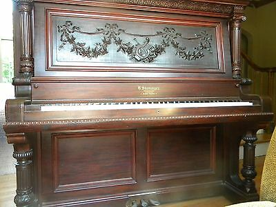 "Shoninger Antique Upright Piano ""Museum Quality"" late 1800's"