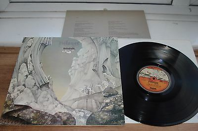 Yes Relayer 1ST PRESS!! A1/B1 EX/EX+ SUPERB AUDIO! INNER TOP COPY!! 1973 UK LP