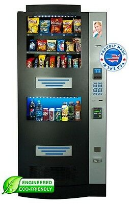 Nice 1800-Vending Seaga Rs900 Rs-900 Combo Vending Machine For Snacks/sodas
