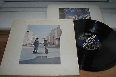 Pink Floyd Wish You Were Here 1ST PRESS!  SUPER CLEAN  AUDIO!  INNER 1975 UK LP
