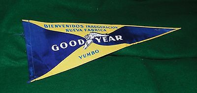 old GOOD YEAR advertising  pennant