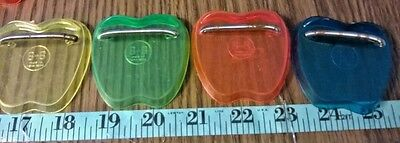"""Lot 4 Vintage 1950's Plastic Stands For Small 5""""-11"""" Dolls B-B Made In Hong Kong"""