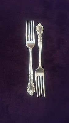 Easterling American Classic Sterling Silver Dinner Fork 1944 Set of 2