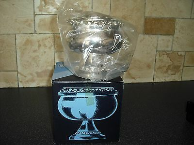 Boxed Silver Plated Ianthe Medium Rose Bowl