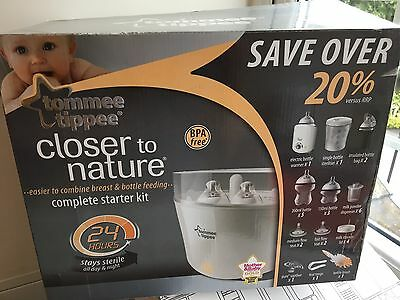 Tommee Tippee Closer To Nature  Electric Steriliser Complete Kit Starter Set